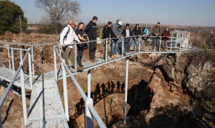 Trace the steps of humankind's ancestors at Swartkrans