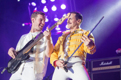 Queen tribute gets audience on its feet, but lacks a certain spark
