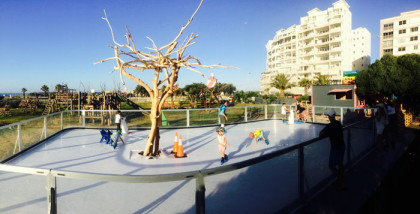 SA's first outdoor ice rink open in Mouille Point