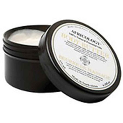 Africology Body Butter made from 100% natural essential oils such as marula, African potatoe, Rooibos and aloe vera