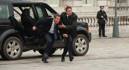 Gerard-Butler-and-Aaron-Eckhart-in-London-Has-Fallen