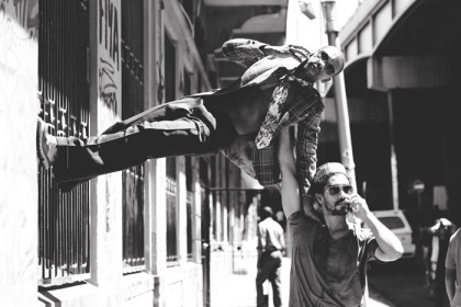 Plight of homeless people expressed through modern dance