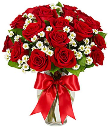 Flowers – A fresh bunch of roses always sets the mood and lifts the soul
