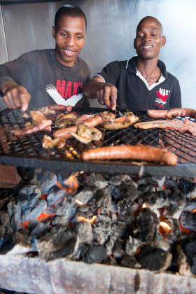 Blazing 'Kasie' cuisine at the Durban Exhibition Centre