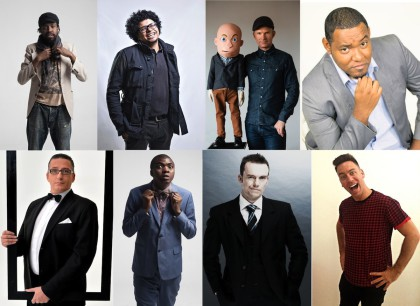 FOR ONE NIGHT ONLY: An all-star line-up at an all-star venue featuring all-star gags