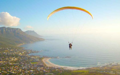Experience the joy and freedom of soaring like a bird