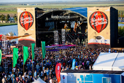 It's almost Rocking the Daisies time again