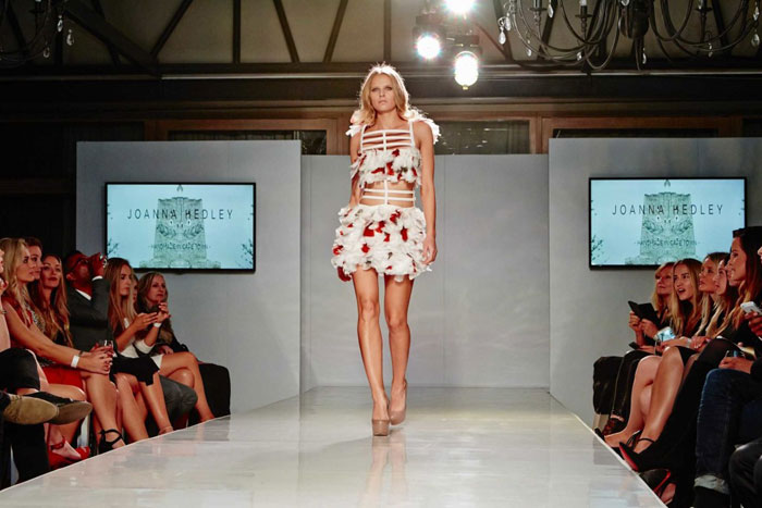 Red Carpet Fashion Show Brings The Fashion Industry To