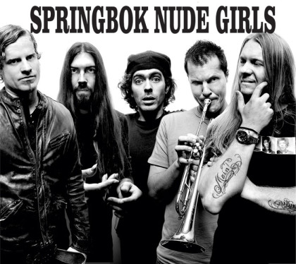 Local rock royalty Springbok Nude Girls are back at it