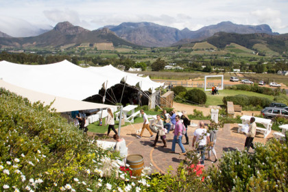 Put a Spring in your step at Franschhoek Uncorked Festival
