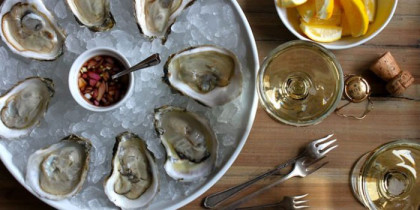 Annual Oyster & Champagne Festival classes it up