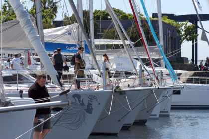 Get up close with the vessels at Cape Town Boat Show