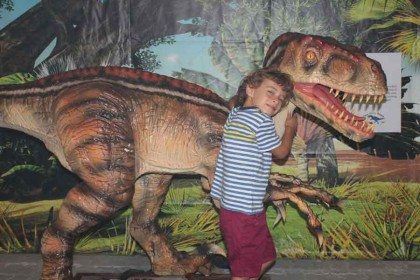 Get up close with our Jurassic forebearers