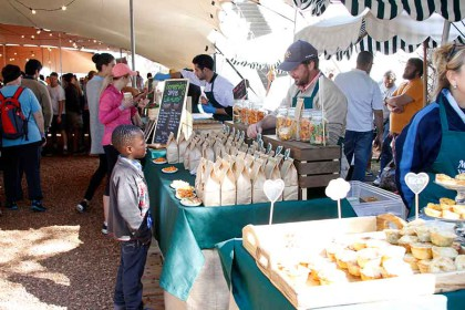 Saturdays are Family Market day at Vergenoegd