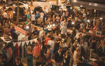 Roof Top Night Market in Berea this Friday