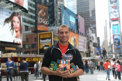 United States speedcubing champion and entertainer will be in SA