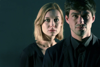 Greta Pietersen and Ludwig Binge in 'Quartet'