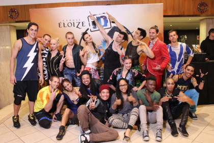 The spectacular Cirque Eloize iD Made Its Debut in Cape Town
