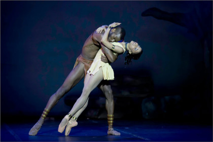 Cuban duo joins cast for the return of 'A Spartacus of Africa' ballet