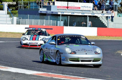 Power Series racing at Killarney enters the home straight