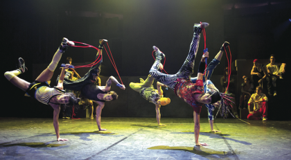 Cirque Éloize return to Jozi with dance and acrobatic spectacular 'iD'