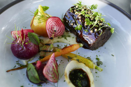 Sensory culinary summer fare in Franschhoek