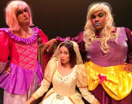 Hip 'Cinderella' Pantomime for the kiddies at the Baxter