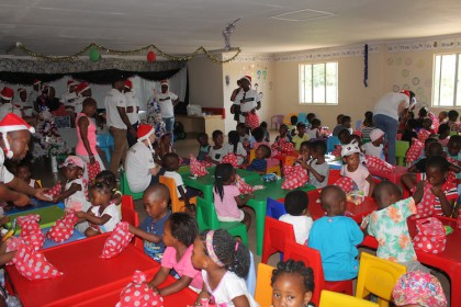 Santa's Suncoast Helpers Spread Festive Cheer in Chesterville