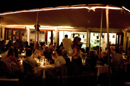 New Year`s Eve Party at café Roux Noordhoek