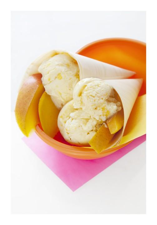 Refreshing Mango Ice Cream