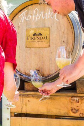 Eikendal Weintaufe Harvest Carnival