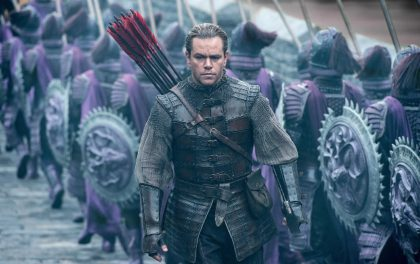 The Great Wall opens at the movies this week in SA