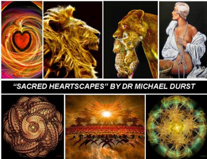 """Mesmeric"" exhibition of wellness art in Sea Point by Dr Michael Durst"