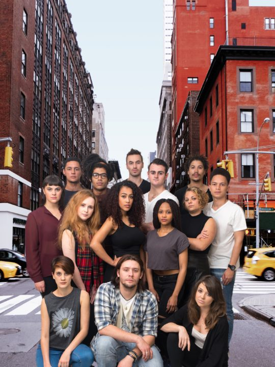 Local cast for RENT