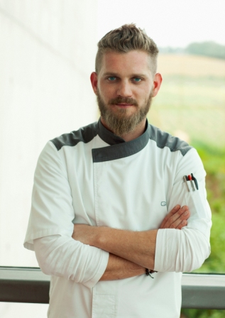 Eat Out Chef of the Year Gregory Czarnecki of Waterkloof Restaurant