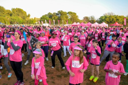 Pink Drive Pick n Pay Womens walk