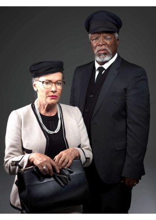 Sandra Prinsloo and John Kani in So Ry Miss Daisy features in Theatre Buzz this week.
