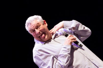 Barry Hilton in next Hanover Street Comedy Sundowners