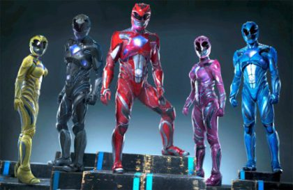 Power Rangers opens at the movies