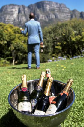 Festival of Bubbles on the slopes of Table Mountain