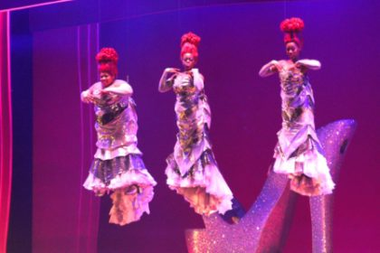 The Divas in Priscilla Queen of the Desert at Artscape Theatre.