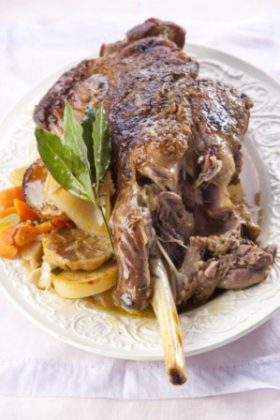 Roast Lamb and Chocolate for Easter