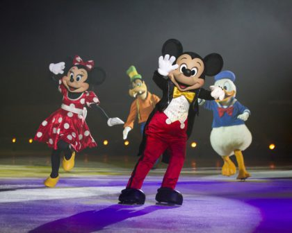 Another scene from Disney on Ice