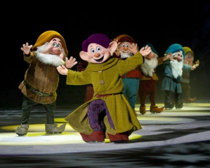 Scene from Disney on Ice