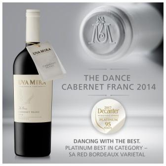 Dance Cabernet Franc wins World Award