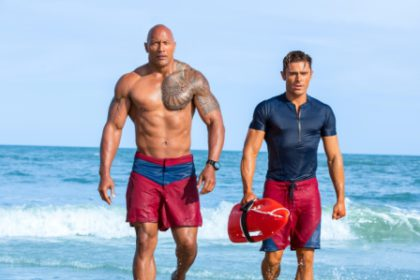 Baywatch the movie is here