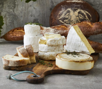 Goat milk cheese the popular choice
