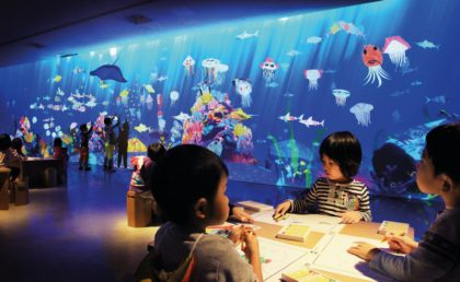 Watch your drawings come to life at Future Park
