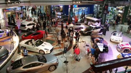 Experience the joy of automobiles at Canal Walk
