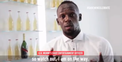Usain Bolt dares South Africans to celebrate their next victory